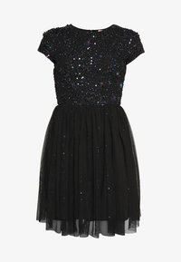 Lace & Beads Petite - NESSIA - Cocktailjurk - black iridescent - 4