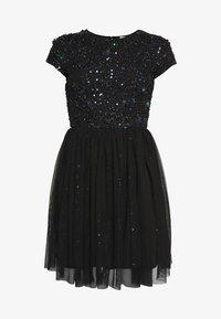 Lace & Beads Petite - NESSIA - Juhlamekko - black iridescent - 4