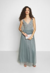 Lace & Beads Petite - KRESHMA MAXI - Occasion wear - teal - 1