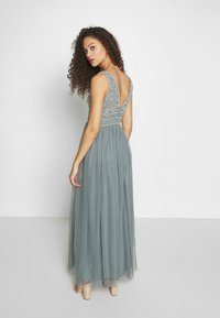 Lace & Beads Petite - KRESHMA MAXI - Occasion wear - teal - 2
