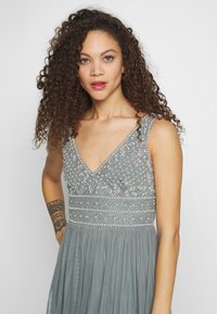 Lace & Beads Petite - KRESHMA MAXI - Occasion wear - teal - 3