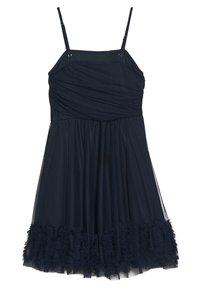 Lace & Beads Petite - RANI DRESS PETITE - Vestido de cóctel - navy - 1