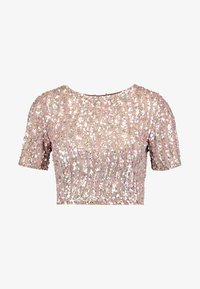 Lace & Beads Petite - LETTY - Blus - mink - 3
