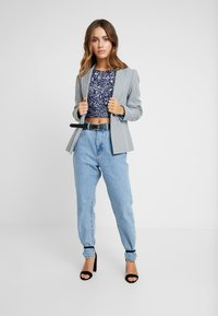 Lace & Beads Petite - PICASSO - Blouse - navy - 1