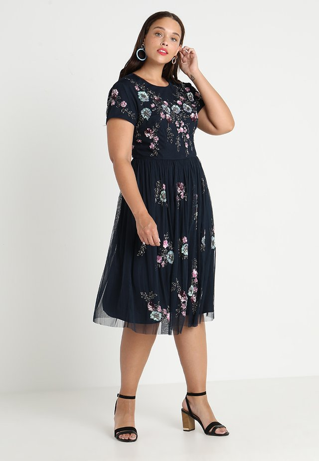 NOBO DRESS - Cocktailklänning - navy