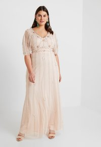 Lace & Beads Curvy - EXCLUSIVE PERSIA MAXI - Occasion wear - nude - 2