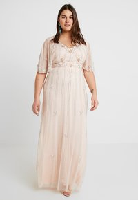 Lace & Beads Curvy - EXCLUSIVE PERSIA MAXI - Occasion wear - nude - 0