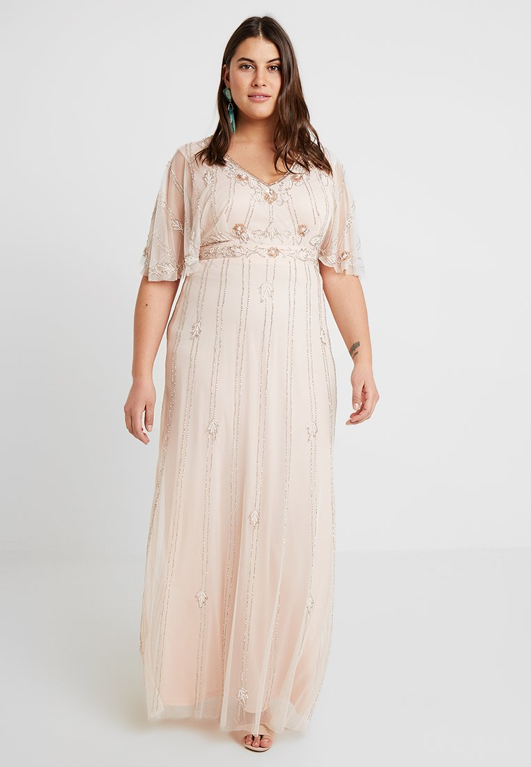 Lace & Beads Curvy - EXCLUSIVE PERSIA MAXI - Occasion wear - nude