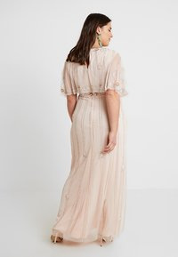 Lace & Beads Curvy - EXCLUSIVE PERSIA MAXI - Occasion wear - nude - 3
