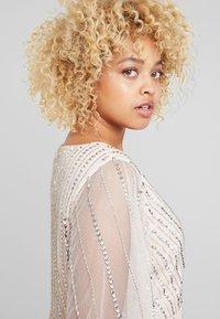 Lace & Beads Curvy - MARTNA - Suknia balowa - blush - 3