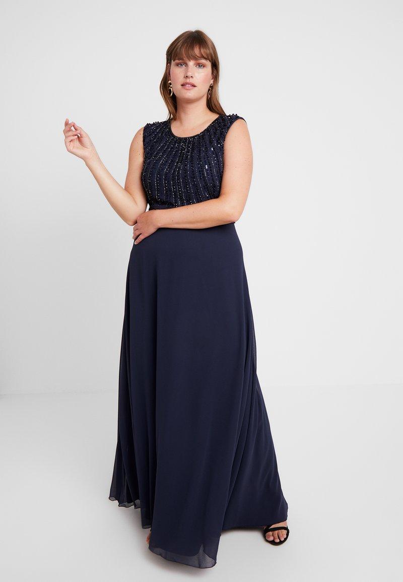 Lace & Beads Curvy - DOTTY MAJE - Occasion wear - navy