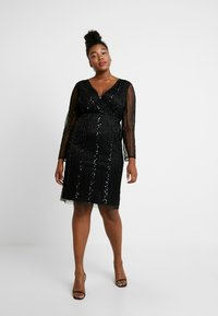 Lace & Beads Curvy - EXCLUSIVE MAJIC DRESS - Vestito elegante - black - 2