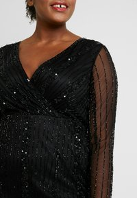 Lace & Beads Curvy - EXCLUSIVE MAJIC DRESS - Vestito elegante - black - 6