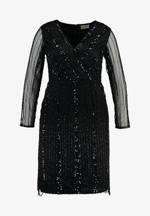 EXCLUSIVE MAJIC DRESS - Koktejlové šaty/ šaty na párty - black