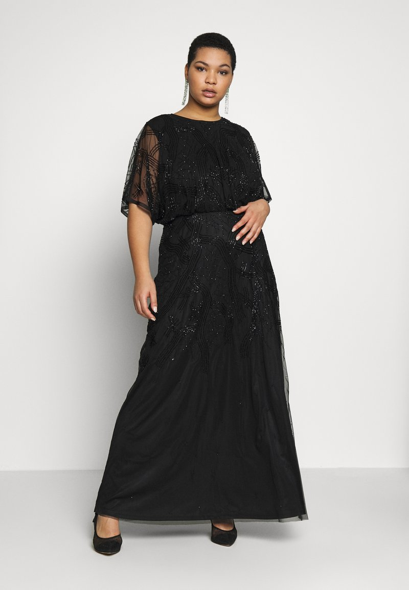 Lace & Beads Curvy - KIARA - Occasion wear - black