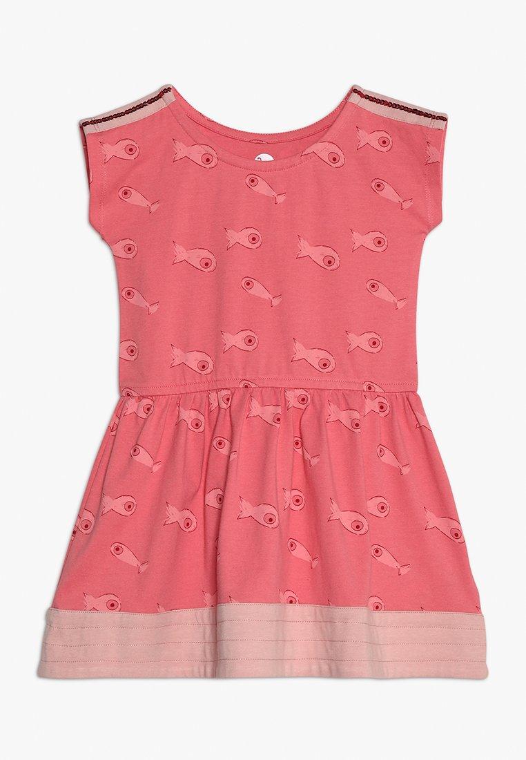 La Queue du Chat - FISH DRESS - Jersey dress - sugar coral