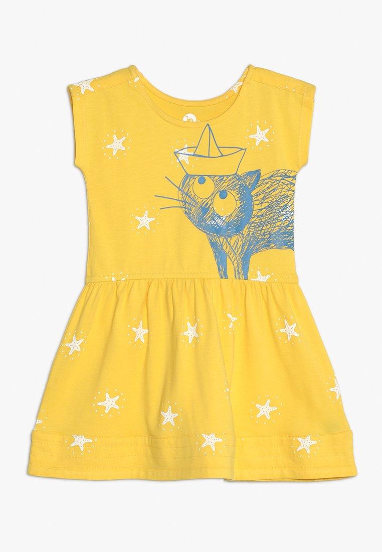 La Queue du Chat - SUNSHINE DRESS - Jersey dress - sunshine yellow