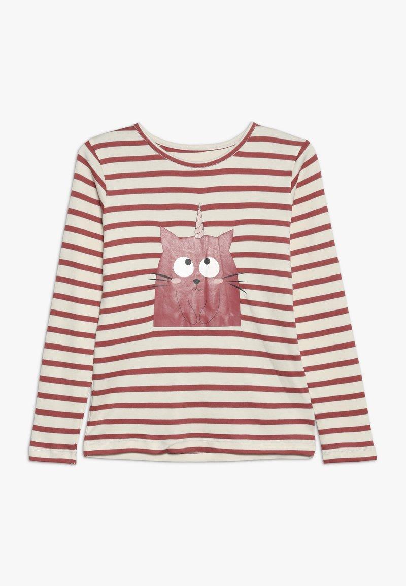 La Queue du Chat - STRIPES - Langærmede T-shirts - pink