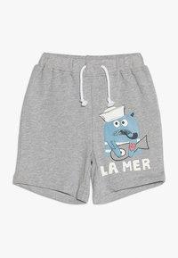 La Queue du Chat - BOY - Shorts - grey melange - 0