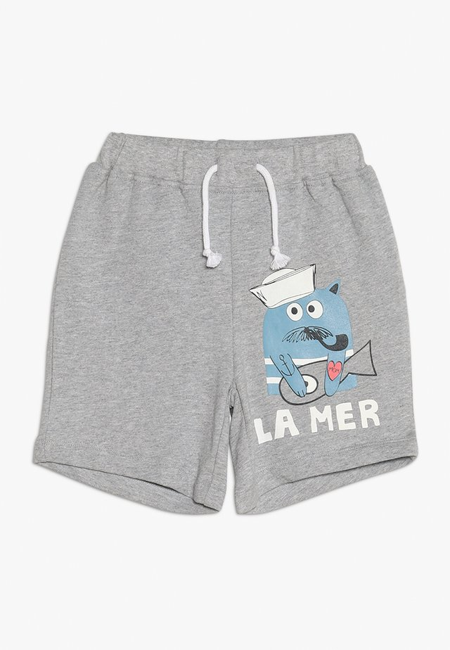 BOY - Shorts - grey melange