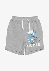 La Queue du Chat - BOY - Shorts - grey melange - 2