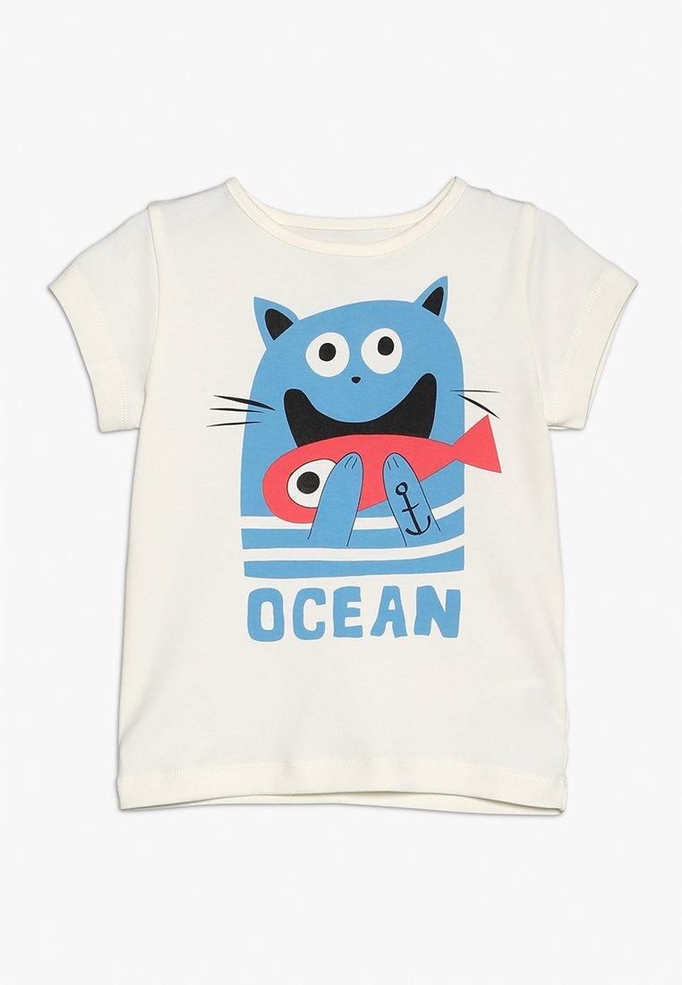 La Queue du Chat - CLOUD BOY - T-Shirt print - cloud cream
