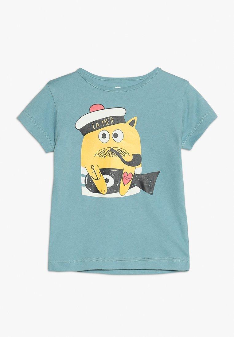 La Queue du Chat - BOY  - T-Shirt print - adriatic blue