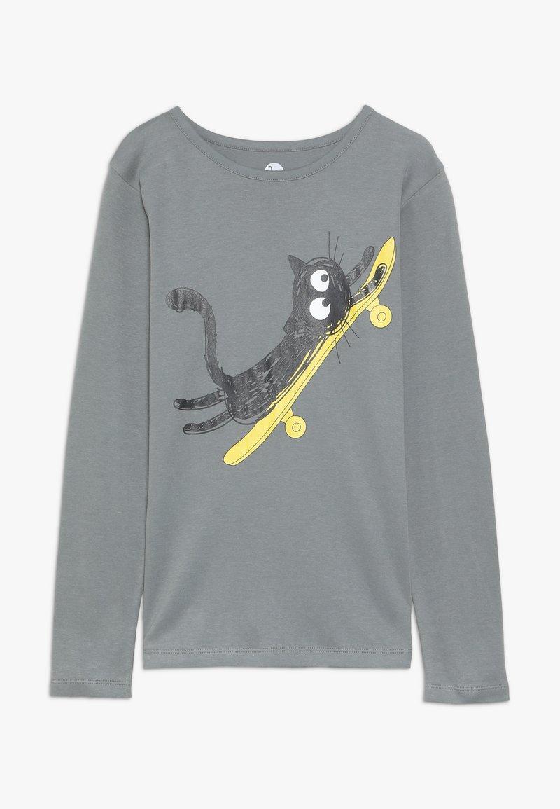 La Queue du Chat - ROLLING  - Long sleeved top - grey