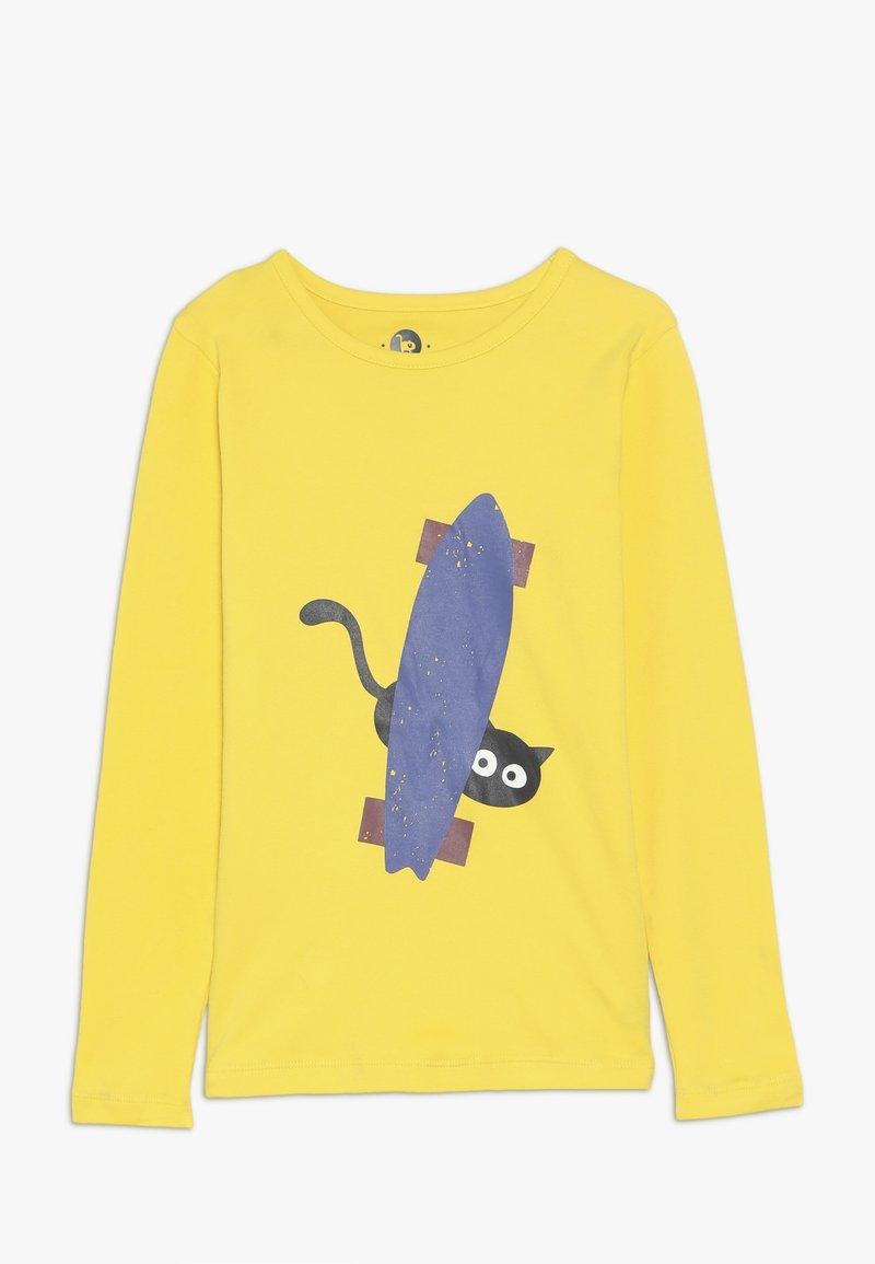 La Queue du Chat - HIDING - Long sleeved top - ochre yellow