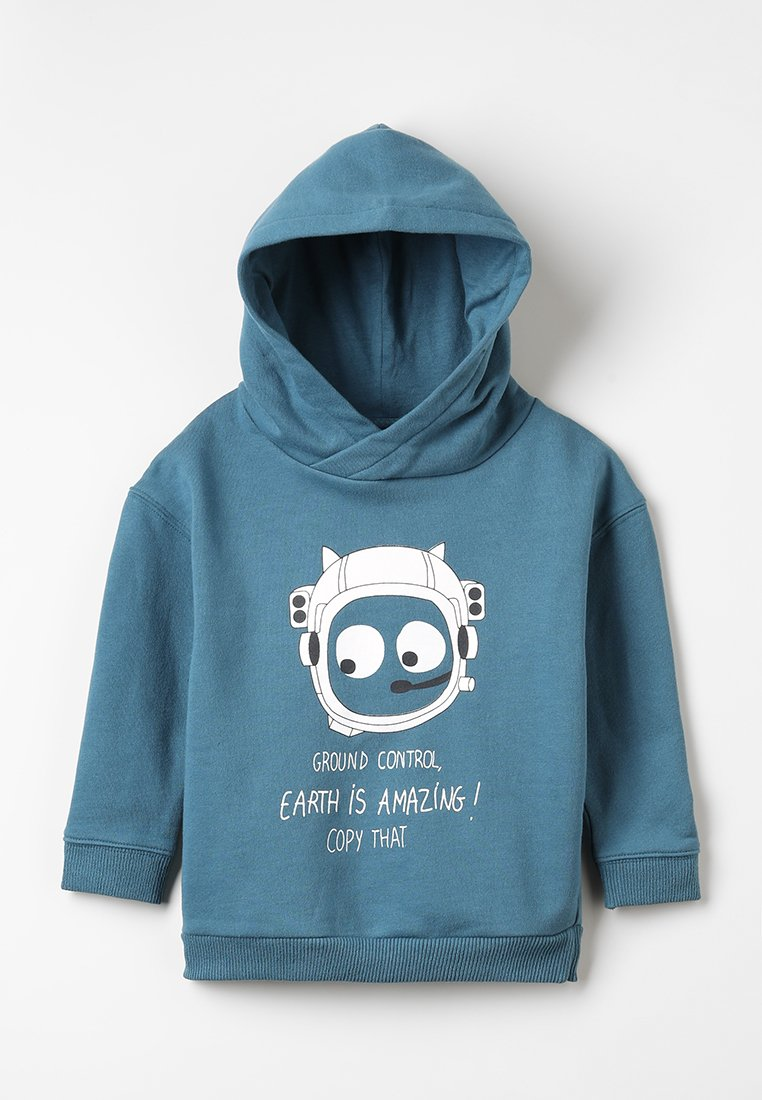 La Queue du Chat - HOODY - Sweatshirt - orient blue