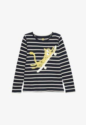 STRIPES  - T-shirt à manches longues - navy