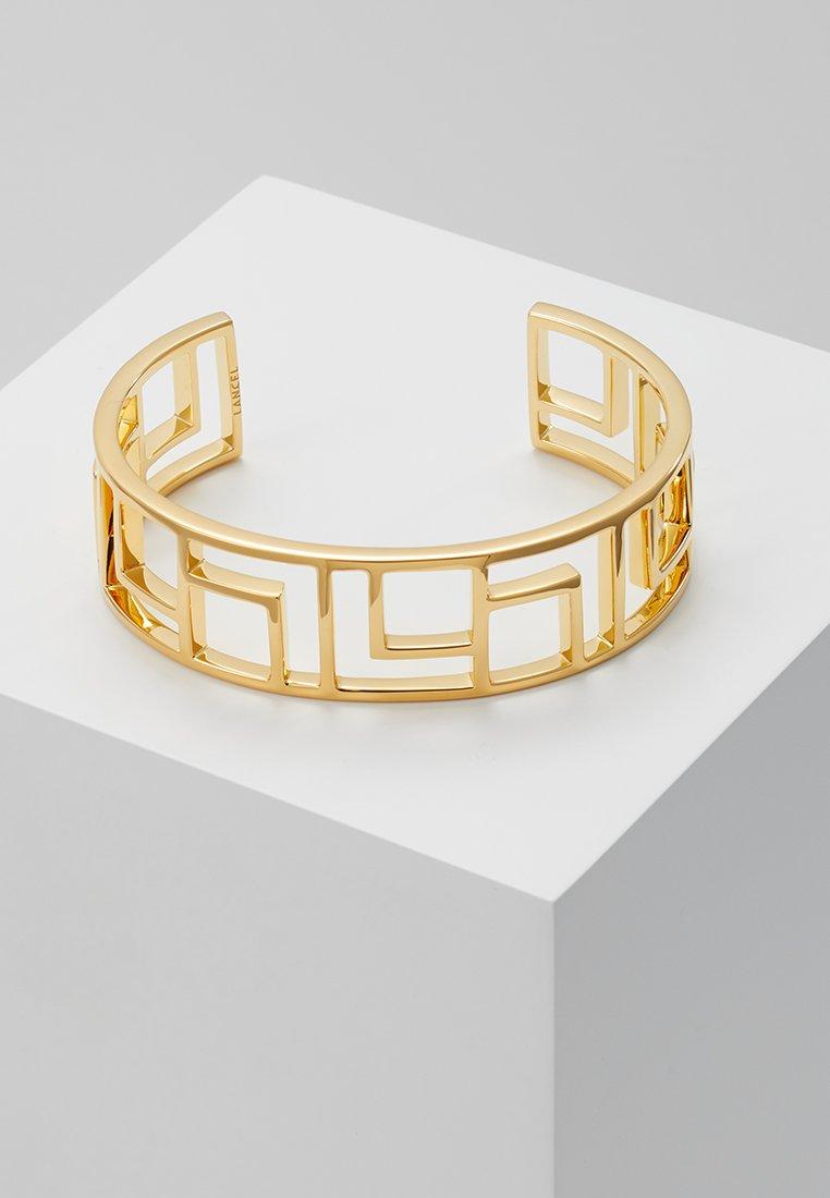 Lancel - LOGO CARRE THIN CUFF - Armbånd - gold-coloured