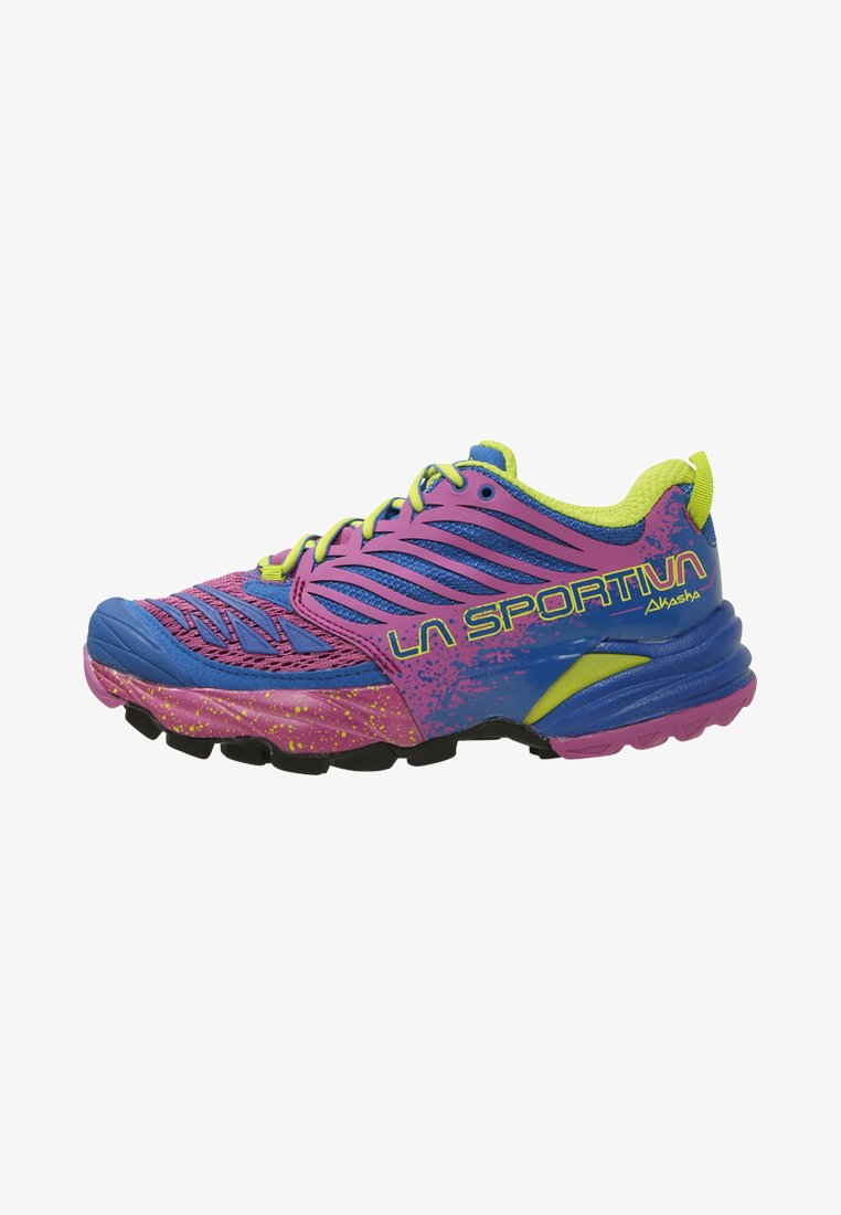 La Sportiva - AKASHA WOMAN - Laufschuh Trail - marine blue/purple