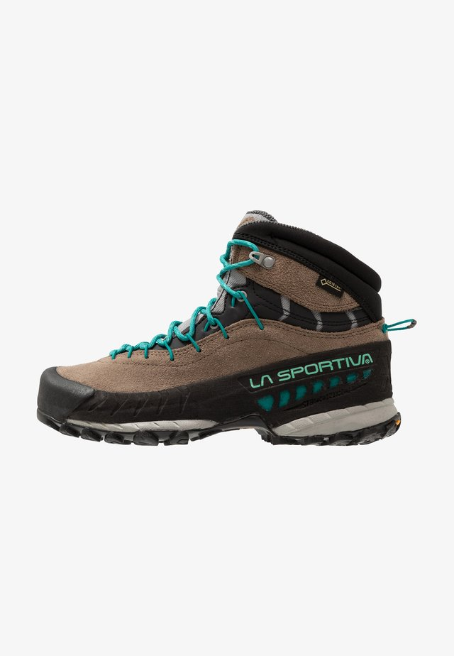 TX4 MID WOMAN GTX - Hiking shoes - taupe/emerald