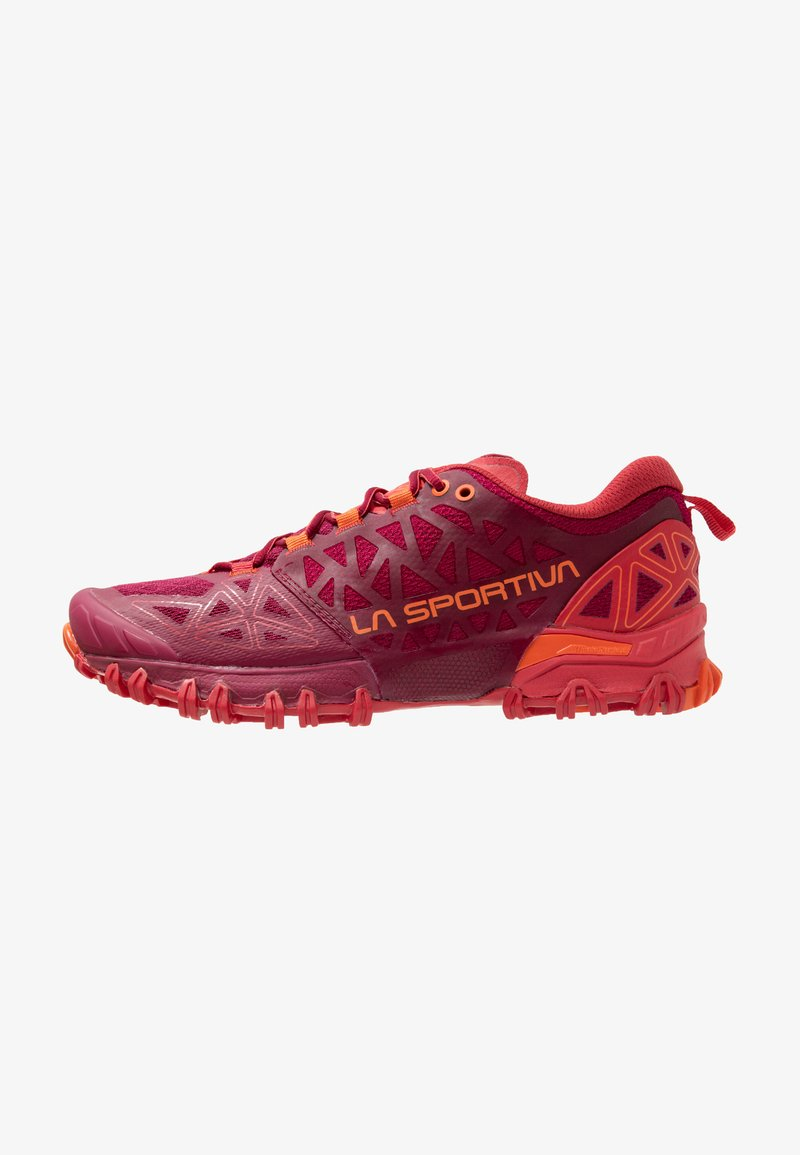 La Sportiva - BUSHIDO II WOMAN - Chaussures de running - beet/garnet