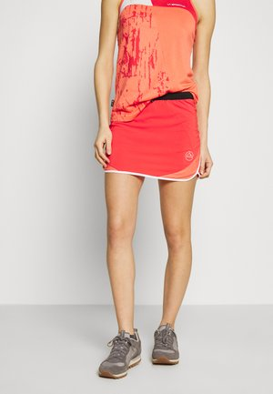 CHEMISTRY TANK - Sports shirt - flamingo/white