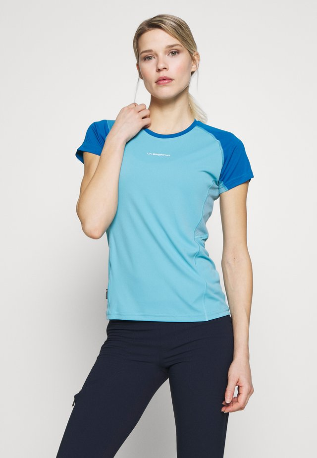 MOVE - T-shirt con stampa - pacific blue/neptune