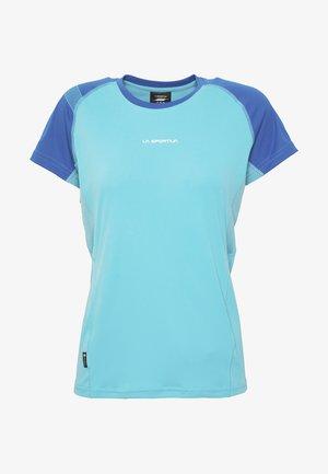 MOVE - Print T-shirt - pacific blue/neptune