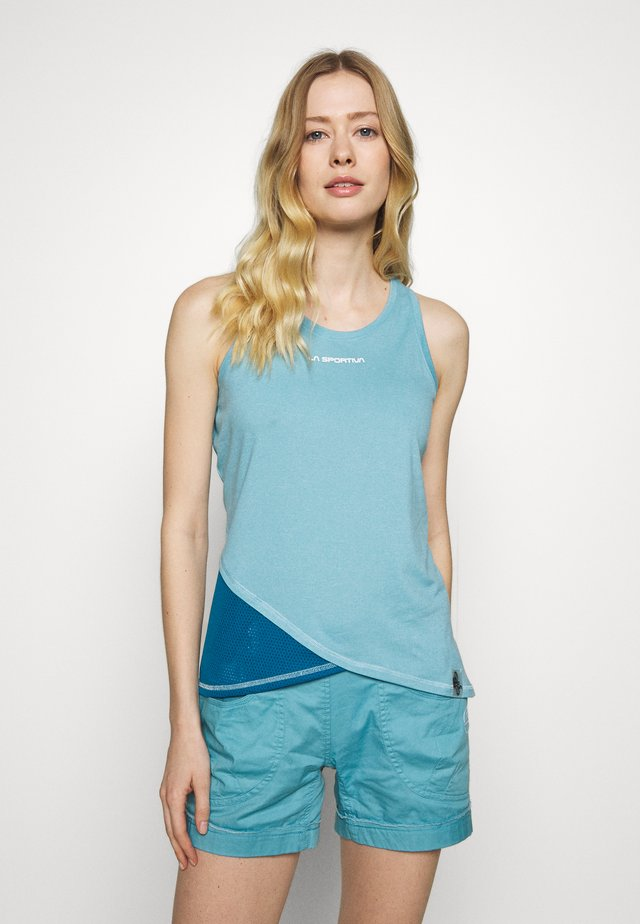 LOOK TANK - Top - pacific blue/neptune