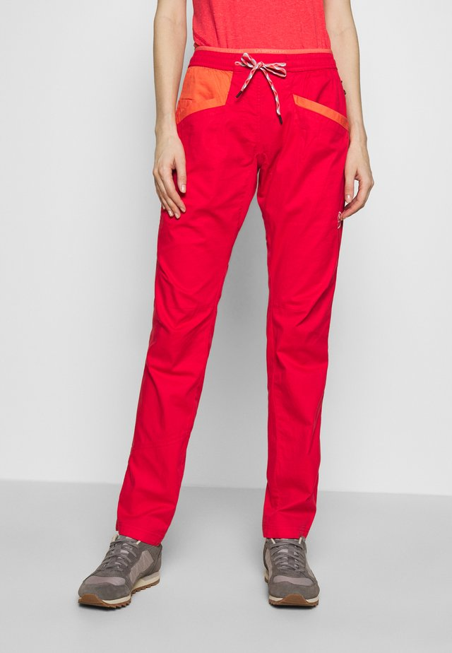 TEMPLE PANT - Trousers - hibiscus/flamingo