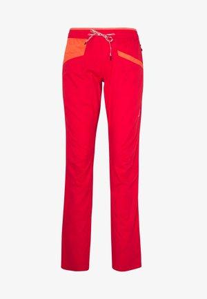 TEMPLE PANT - Trousers - hibiscus/flamingo