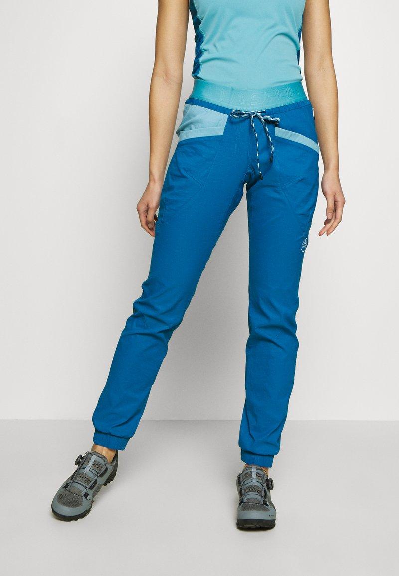 La Sportiva - MANTRA PANT  - Trousers - neptune/pacific blue
