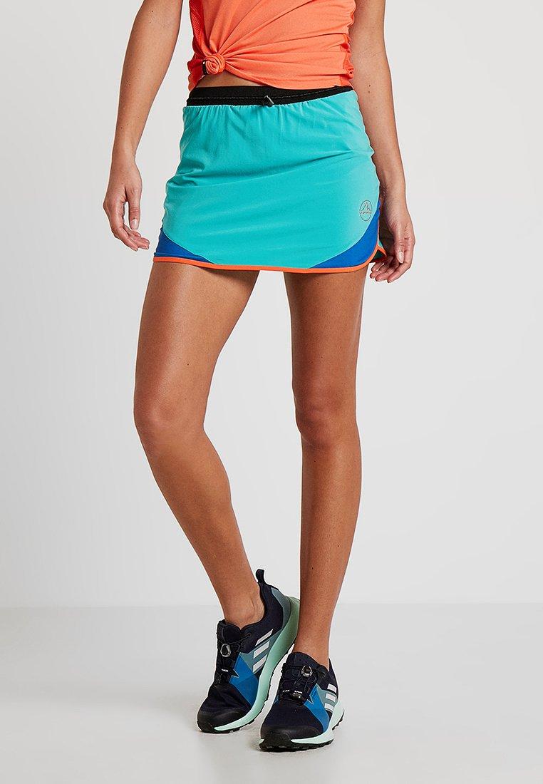 La Sportiva - COMET SKIRT - Sportovní sukně - aqua/marine blue