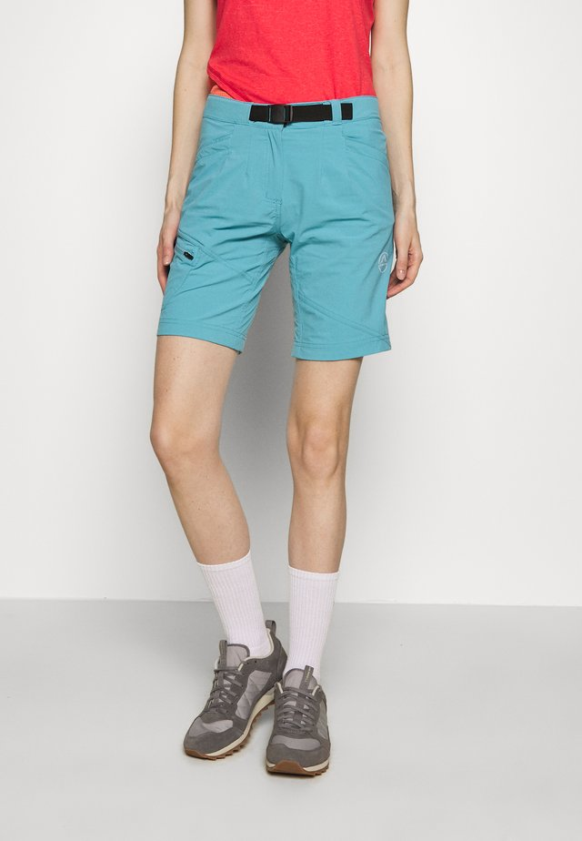 SPIT SHORT - Sports shorts - pacific blue