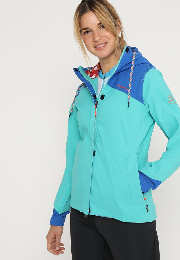 La Sportiva - PITCH - Outdoor jacket - aqua/marine blue