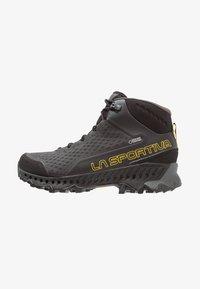 La Sportiva - STREAM GTX - Obuwie hikingowe - black/yellow - 0