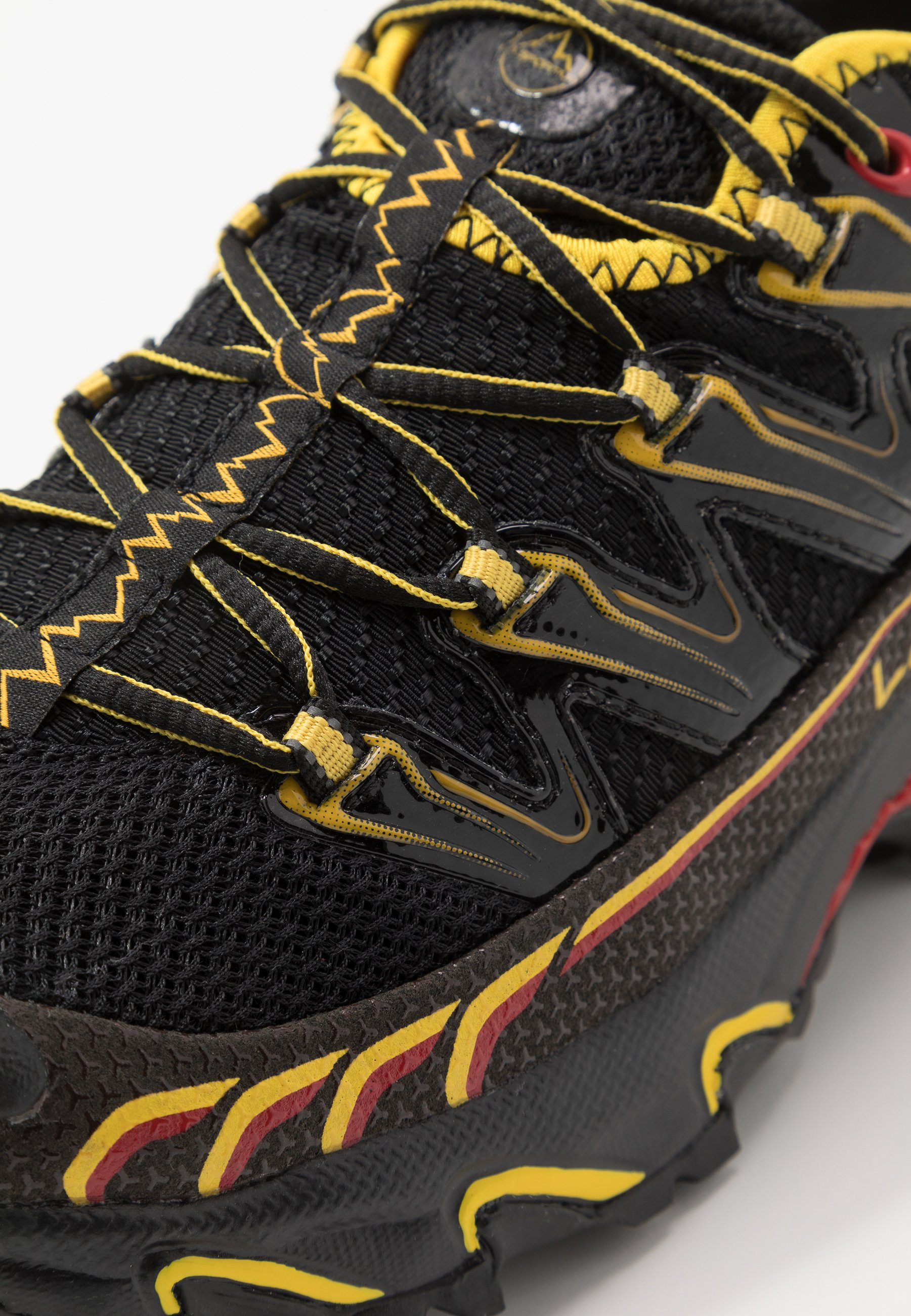 La Sportiva ULTRA RAPTOR - Løbesko trail - black/yellow