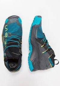 La Sportiva - UNIKA - Chaussures de running - carbon/tropic blue - 1