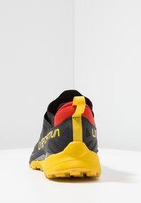 La Sportiva - KAPTIVA - Scarpe da trail running - black/yellow - 3
