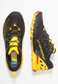 La Sportiva - BUSHIDO II - Trail hardloopschoenen - black/yellow - 1